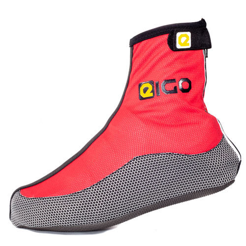 New Cycling EIGO Windster Overshoes In Red Free P/&P
