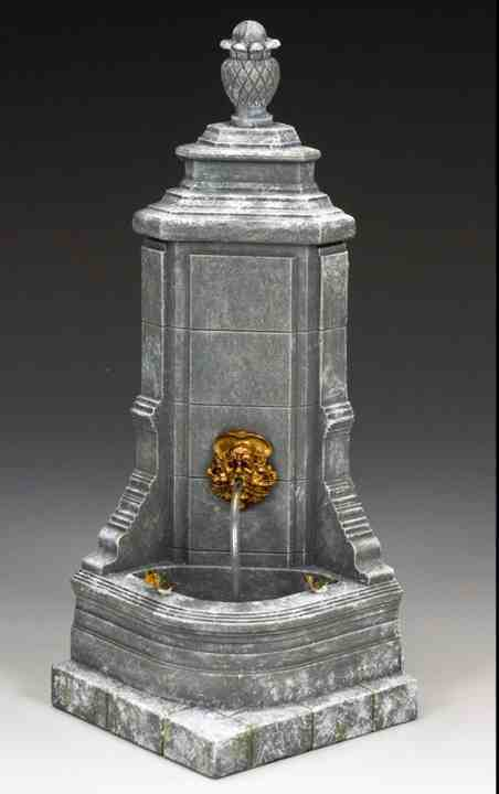 KING AND COUNTRY Victorian Christmas Corner Fountain WoD018 WoD18 Scale Model
