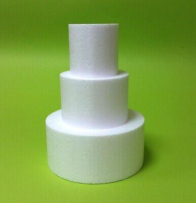 Dummy Es ist das meistverkaufte Produkt von uns 3-Set Ø 15//10//5x8 cm Styropor