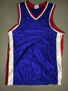 7a434d4b80d Image is loading BLANK-McDonalds-All-American-BLUE-Red-White-Trim-