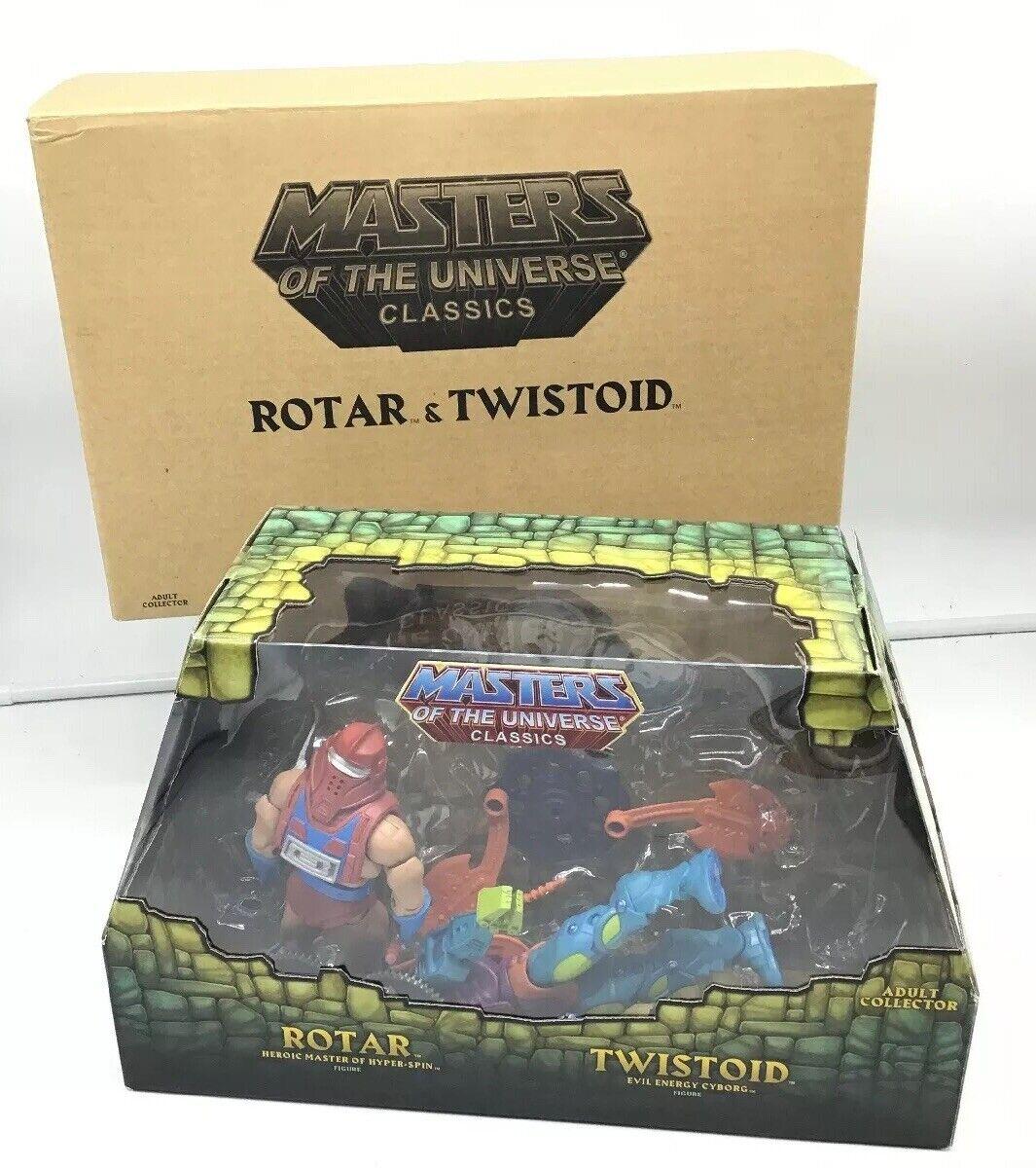 MOTU Classics Rotar And Twistoid MOTUC NISB masters of the universe 2015
