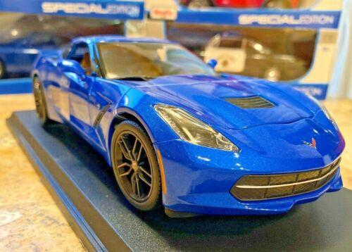 2014 Chevrolet Corvette Stingray C7 Z51 Coupe Maisto 1:18 Diecast Model Car NIB