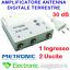 miniatura 1 - AMPLIFICATORE ANTENNA TV ALIMENTATO DI LINEA DA INTERNO 2 OUT 30dB 414113