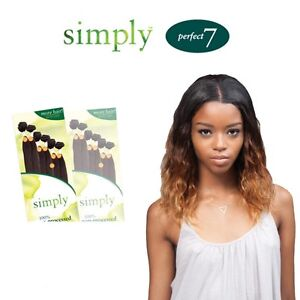 Image Is Loading Outre Simply Perfect 7 Brazilian Natural Body 100