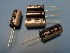 (5) PANASONIC 330uf 25V 105°  Radial Electrolytic Capacitor USA SELLER NEW