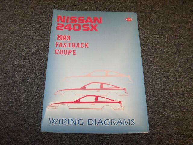1993 Nissan 240sx Coupe  U0026 Fastback Electrical Wiring