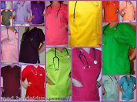KASACK BUNT 23 FARBEN OP-Kleidung Bunt / Kasack/ Ärzte- & Schwesternkleidung