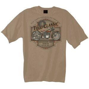 Camiseta-Con-Motocicleta-Harley-Davidson-impresion-Modelo-Verdadero-CLASSIC