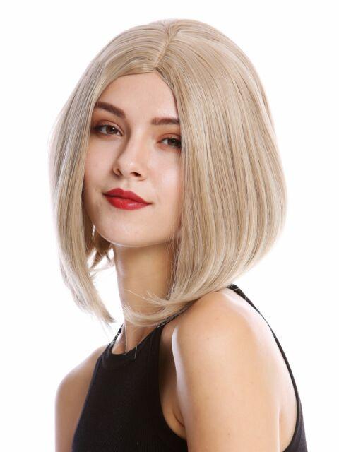 Ladies\u0027 Wig Cosplay short Shoulder Length Long Bob Middle Part Blonde Mix