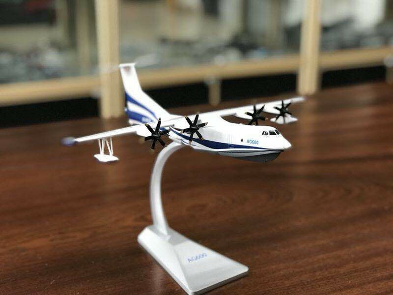 1 130 AG600 Amphibious Aircraft diecast Model