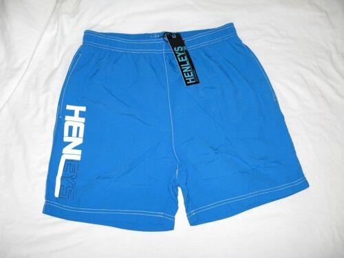 "34 /"" Waist BNWT  HENLEYS Fender  Swim Shorts  Directoire Blue    32 /"""
