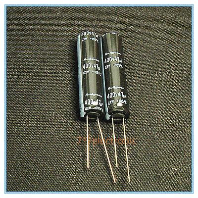 4x 47uf 400v Rubycon Radial Electrolytic Capacitor 400v47uf upgrade 350v 200v