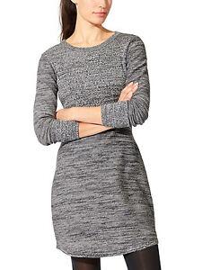 e6f371032ed Image is loading NWT-Athleta-Cottonwood-Sweater-Dress-Grey-Marl-SIZE-