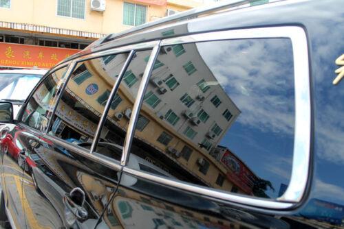 Full Set 16pcs Window Frame Trim Stainless Steel For Toyota Highlander 2011-2013