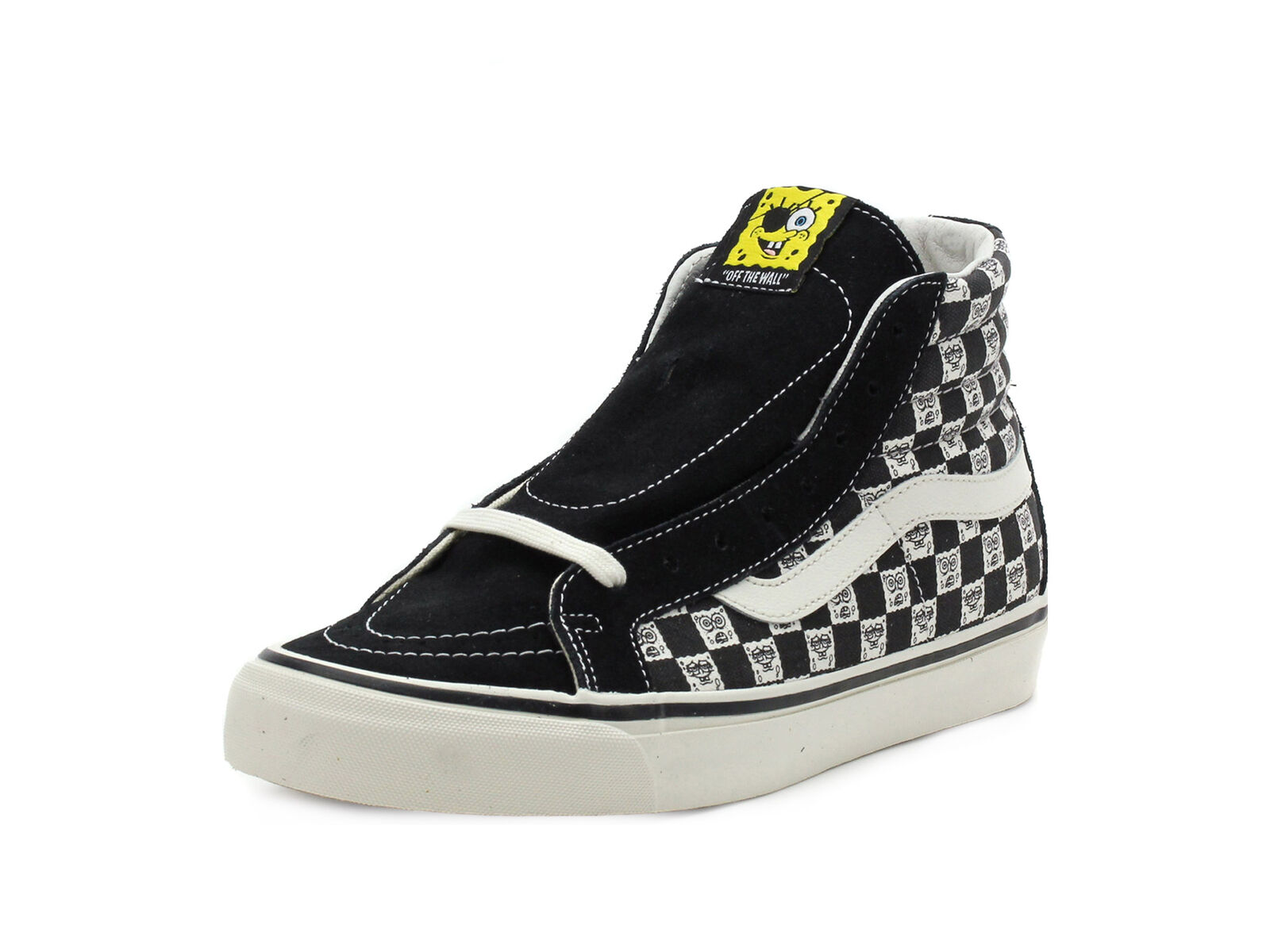 Vans Mens OG SK8-Hi LX Spongebob Checkerboard VN-0003T0Q7Y
