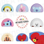 miniature 1 - BT21 Character Mini Rug Floor Mat 64 x 40cm 7types Official K-POP Authentic MD