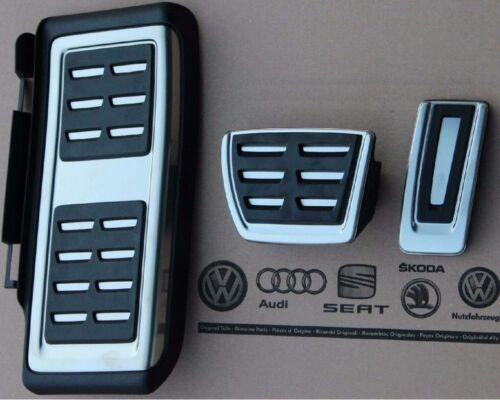 Skoda Octavia 3 5E original RS Pedalset Pedals Caps pads feetrest automatic cars
