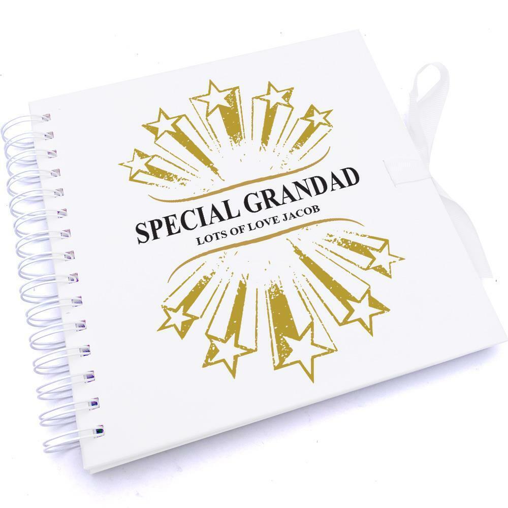 Personalised Special Grandad Scrapbook Photo Album UV-411