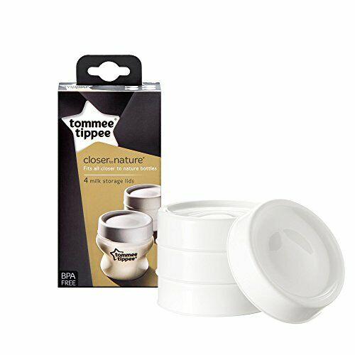 Tommee Tippee Milk Storage Lids x 4