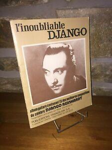L-039-inoubliable-Django-Reinhardt-album-15-compositions-guitare-Rene-Duchossoir