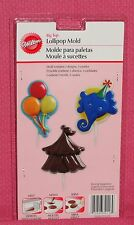 Circus,Big Top Chocolate Lollipop Mold,Wilton,Clear Plastic,2115-2116
