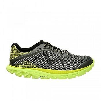 Racer W silver gray & lime MBT Running