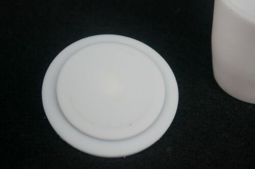 PTFE Teflon Crucible Cup with Cover Lid PTFE Beaker Acid Alkali Resistance