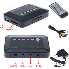 720P AV Player DIVX RMVB AVI USB SD MS MMC TV HD Media Center HDD With Remote