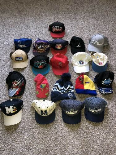 Vintage Hat Lot Nascar Mickey Scooby Doo Patagonia