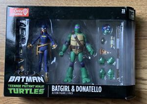 DC-Collectibles-Batman-vs-TMNT-Batgirl-amp-Donatello-Action-Figure-2-Pack