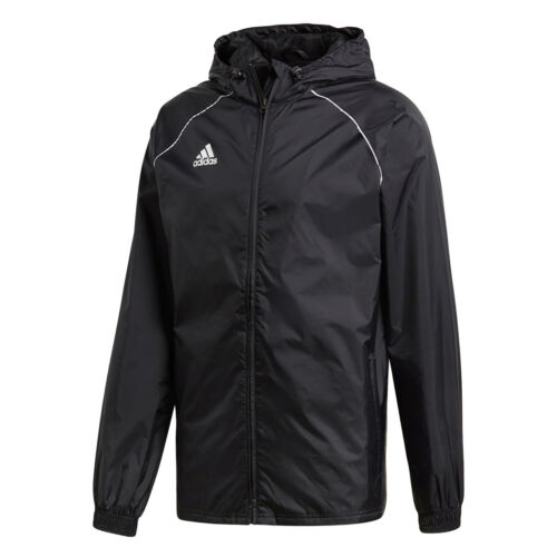 CE9048 Adidas Core 18 Veste de Pluie Hommes Noir