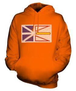 Labrador Capuche Sweat Griffonnage État À Newfoundland Unisexe Drapeau Et 5XxPtw0