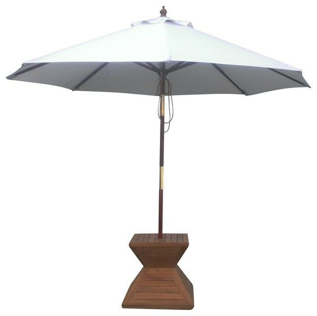 Natural 9 Ft Outdoor Patio Umbrella