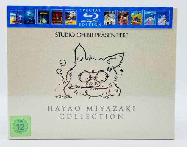 Hayao Miyazaki Collection (Special Edition) [Blu-ray] - NEU - OVP