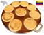 "36cm GauchogrillX® Budare Pre-Curado 14/"" Hecho Venezuela Griddle Comal Tawa"