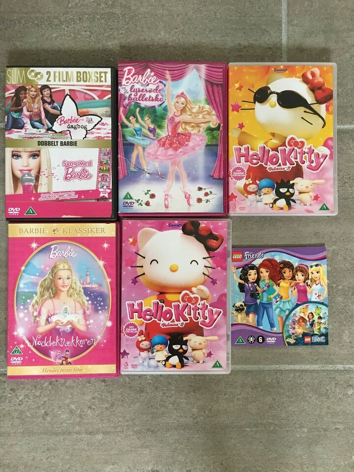 Barbie og Hello Kitty, DVD, tegnefilm