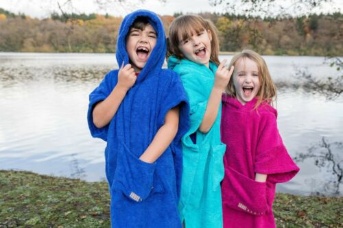 /'booicore/' KIDS CHANGING ROBE PONCHO OUTDOOR TOWEL SWIMMING BEACH HOLIDAY