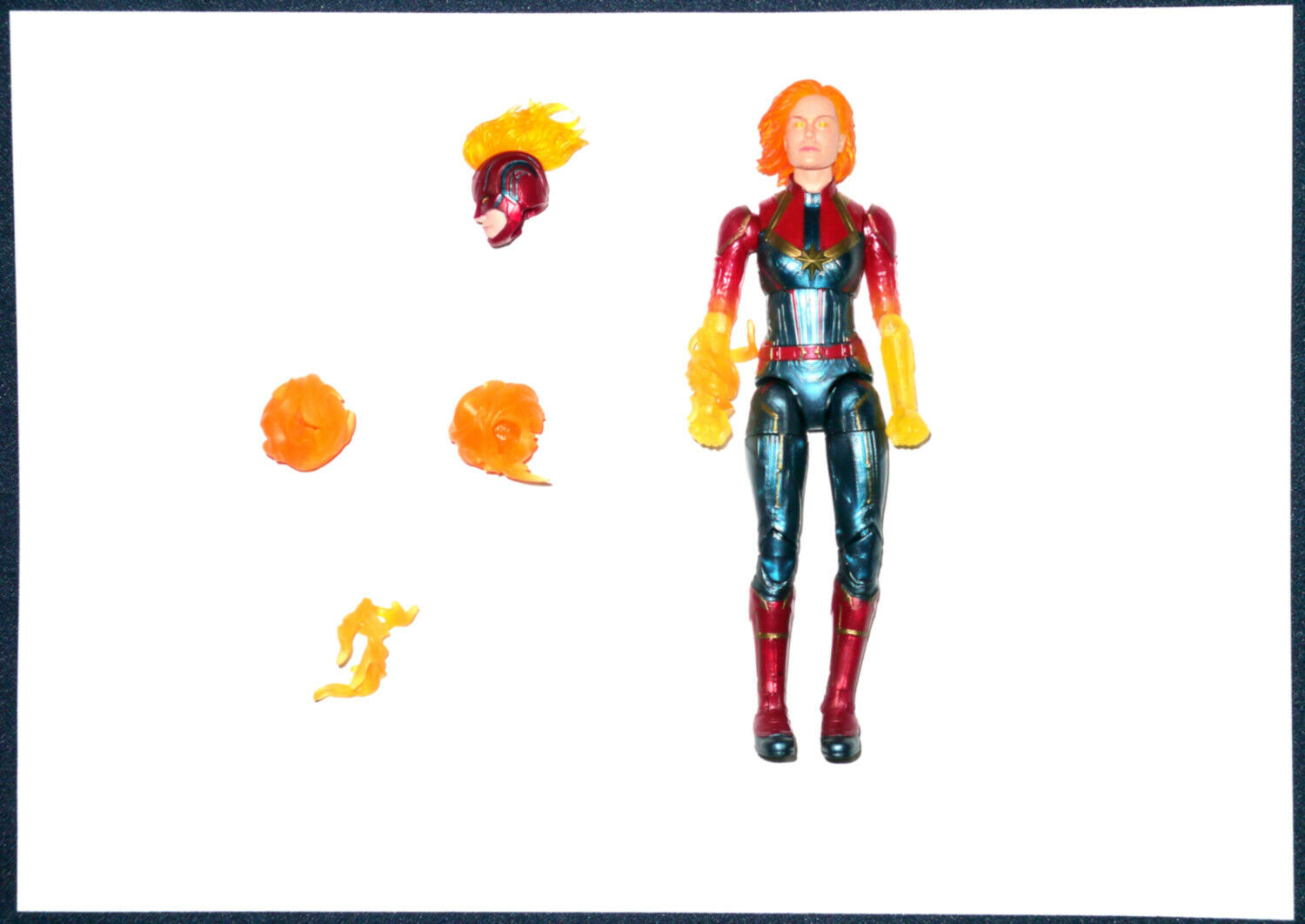 Captain Marvel Binary Form Marvel Legends Exclusive 2019 Hasbro Hasbro Hasbro loose figure 15f6c8