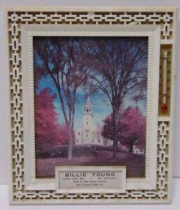 Vintage-1960s-TRENTON-MILK-COMPANY-ADVERTISING-Thermometer-GREEN-CITY-MISSOURI