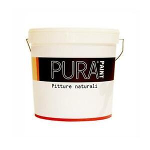 Pura Paint Nettuno Superlavabile Pittura Murale Naturale Bianco Kg 10 Mq 130 Ebay
