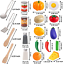 Details about  /Kitchen Pretend Play Accessories Toys with Stainless Steel Cookware Pots and Pan