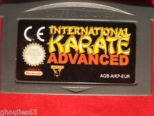 INTERNATIONAL KARATE ADVANCED GAME BOY ADVANCE INTERNATIONAL KARATE ADVANCE GBA