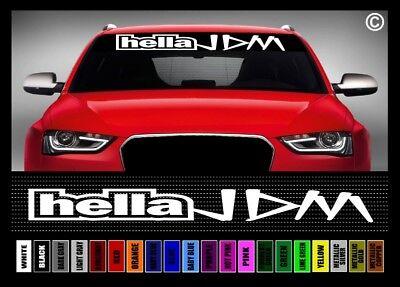"40/"" 4 Banger Import JDM Street Racing Car Decal Sticker Windshield Banner COLORS"