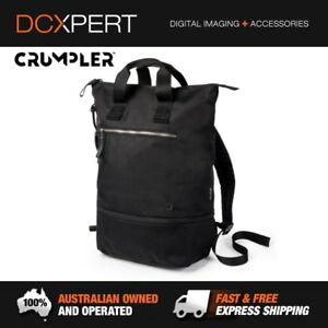 CRUMPLER-DOOZIE-PHOTO-BACKPACK-BLACK-METALLIC-SILVER