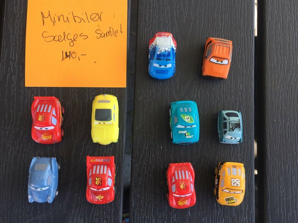 Cars biler i store mængder