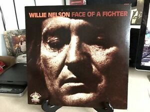Willie-Nelson-Face-Of-A-Fighter-1978-Vinyl-LP-Record-Album-VG