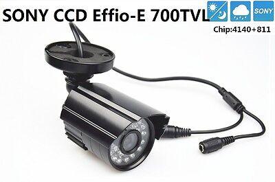 "1PC 1//3/"" SONY CCD 700TVL mini Indoor Outdoor HD CCTV 3.6mm Lens Security Camera"