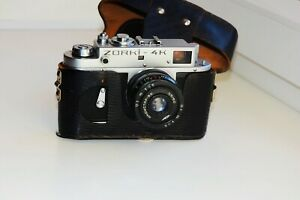 ZORKI-4K-EXPORT-EDITION-Soviet-rangefinder-film-camera-w-s-lens-034-INDUSTAR-50-034