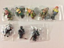 MiniMates TMNT Nickelodeon Lot of 8 (Missing Mutagen Mikey) Diamond Select Loose