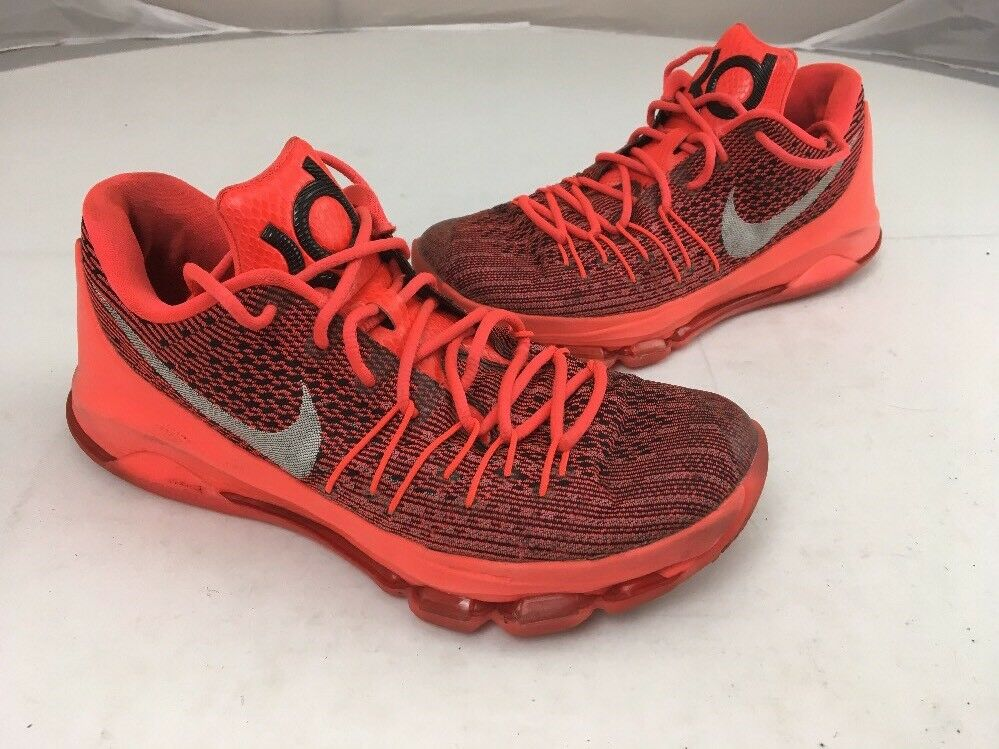 Nike KD 8 Chevy Camaro Sz 8.5 Bright Crimson White Black